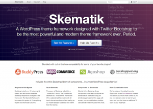 Skematik Theme Homepage