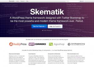 Skematik Theme Homepage