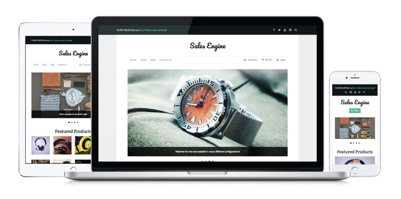 Salesengine Storefront Themes